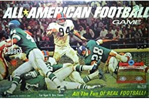 Amazon.com: 1969 All-American Football Game: Toys & Games