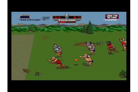 Pigskin 621 A.D. - Gameplay 1st period - YouTube