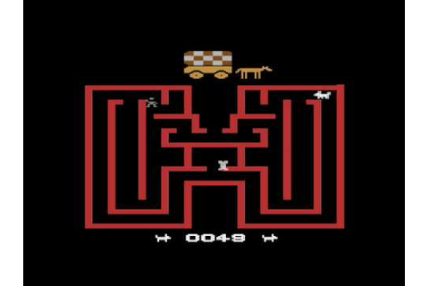 Chase the Chuckwagon for the Atari 2600 - YouTube