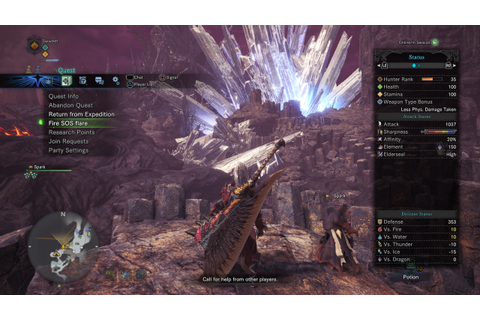 Monster Hunter World Multiplayer Expeditions: how to play ...