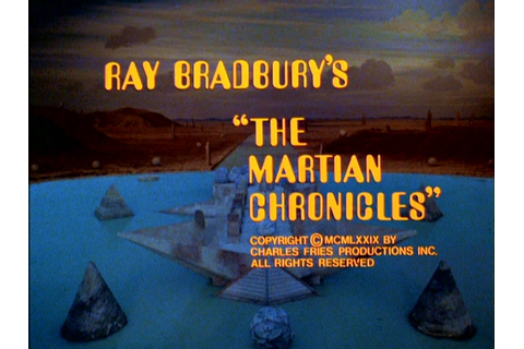 Weird old title sequences: The Martian Chronicles - The ...