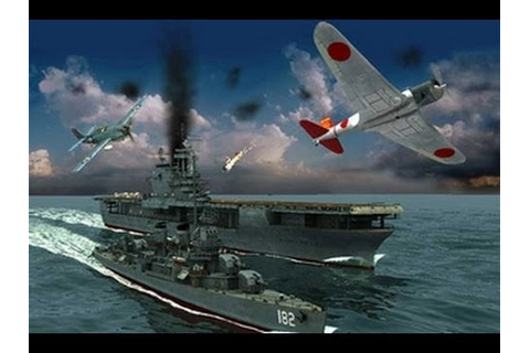 Il-2 1946 Battle of Midway - Task Force 17 - YouTube
