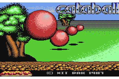 Hoppin' Mad (1987) C64 game