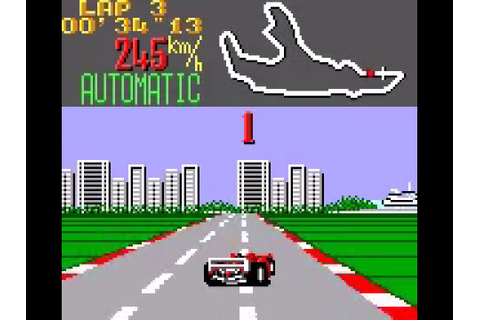 Super Monaco GP (Game Gear) - Complete Playthrough - YouTube