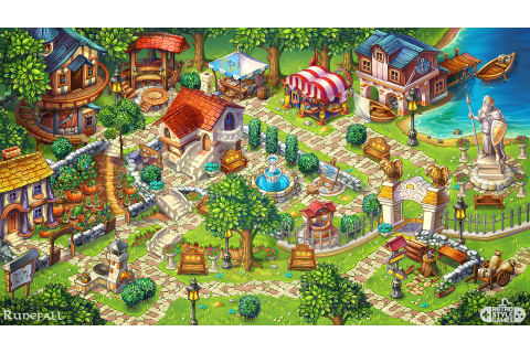 RetroStyle Games - Runefall - Match-3 Town Building Metagame