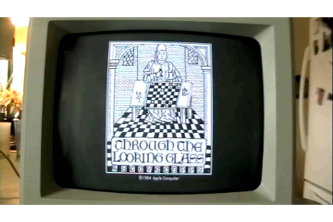 (ALICE, Through The Looking Glass) Vintage Apple Macintosh ...