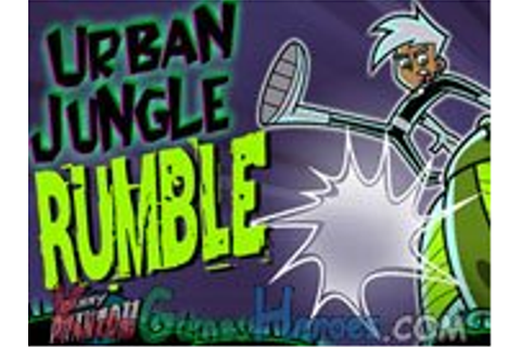 Cartoon Heroes >> Danny Phantom - Urban Jungle Rumble ...