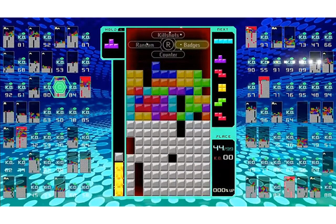 Tetris 99 is the puzzle battle royale game you never ...