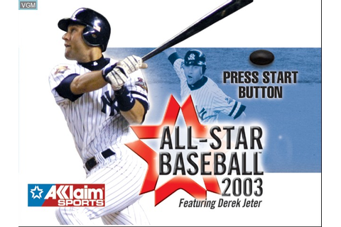 All-Star Baseball 2003 for Microsoft Xbox - The Video ...