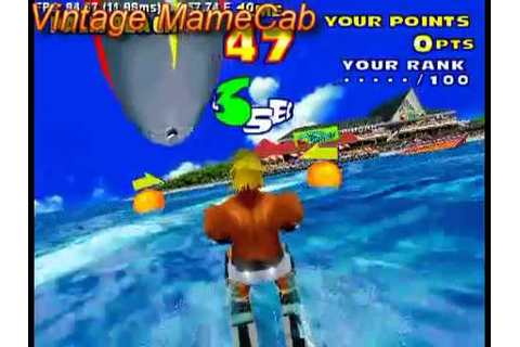 Sega Water Ski - Arcade Version (Sega Model 2) - Vintage ...