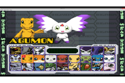 Digimon rumble arena ps1 todos los personajes + save game ...