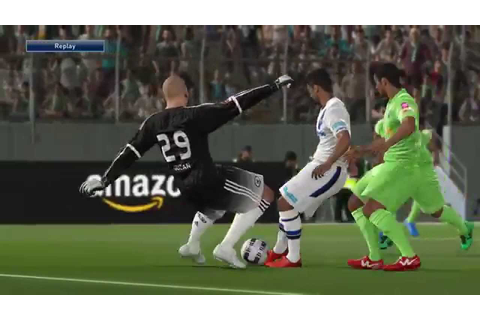 Pro Evolution Soccer 2016 first game in J-League - YouTube