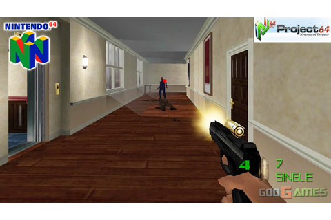 007: The World is Not Enough - Gameplay Nintendo 64 1080p ...