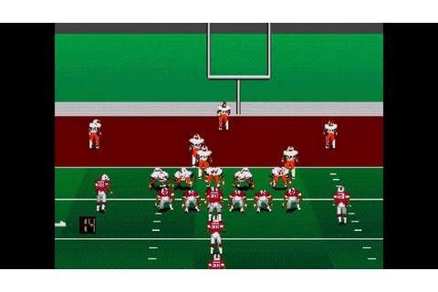 College Football USA 96 ... (Sega Genesis) - YouTube