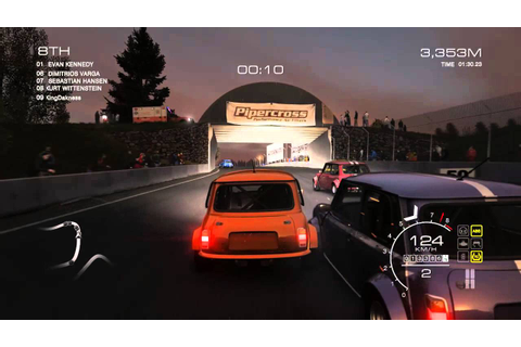 GRID Autosport Part 1 PC Game Play - YouTube