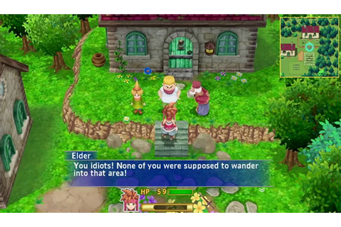10 minutes of Secret of Mana remake gameplay [Update ...