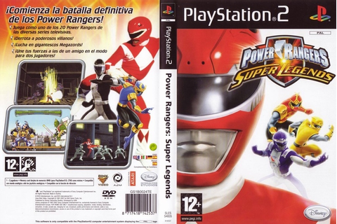 Download Game Power Rangers - Super Legends PS2 Full ...