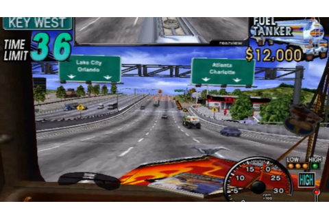 18 Wheeler: American Pro Trucker (GameCube) Playthrough ...