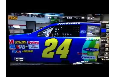 NASCAR the game 2011: Jeff Gordon Rainbow Warrior Car ...