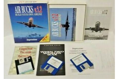 Air Bucks v.1.2 Build Your Own Airline PC Game Big Box ...
