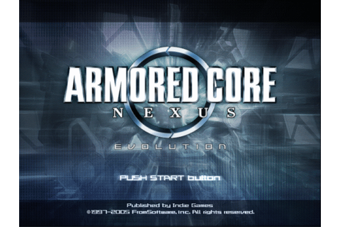 Armored Core - Nexus (USA) (Disc 1) (Evolution) ISO