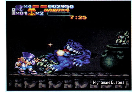 Snes Central: Nightmare Busters