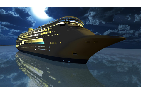 Tourist Transport Ship Game - Cruise Ship Driving ...