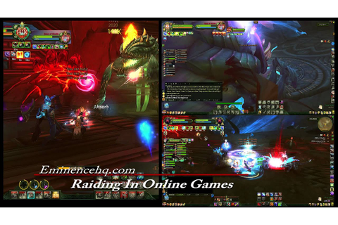 End Game Raiding In MMO And Online Games (HD) - YouTube
