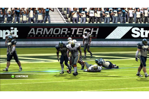 Backbreaker Gameplay - Xbox 360 - YouTube