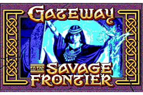 Gateway to the Savage Frontier rpg for DOS (1991 ...