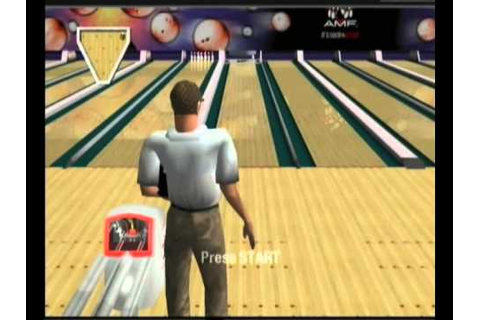 AMF Bowling 2004 Xbox Gameplay - YouTube