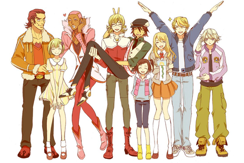 The heroes - Tiger and Bunny | FAV animes and games and ...