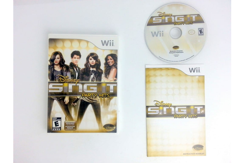 Disney Sing It: Party Hits game for Wii (Complete) | The ...