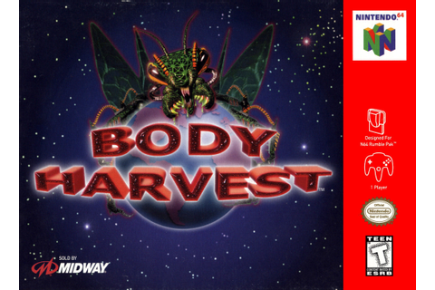 Body Harvest Nintendo 64 N64