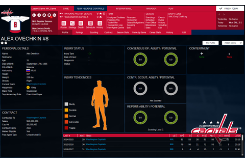 Franchise Hockey Manager 3 Free Download - Ocean Of Games