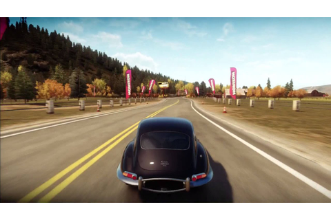 Forza Horizon - 1961 Jaguar E-Type S1 Test Drive - YouTube