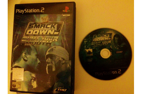 GAME REVIEW: WWE Smackdown - Shut Your Mouth - PS2 ~ Retro ...