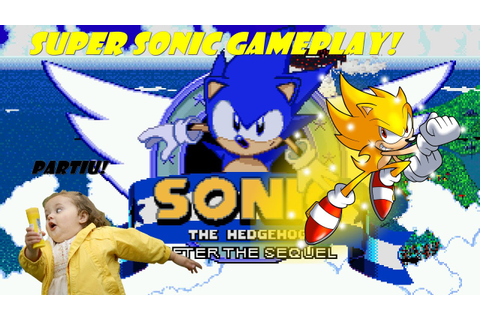 Sonic After the Sequel Super sonic Gameplay(PT-BR) - YouTube