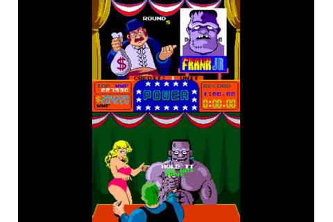 Arm Wrestling Arcade game play playthrough part 1 - YouTube