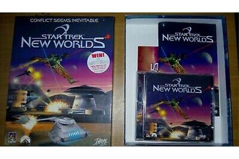 Star Trek New Worlds PC CD ROM Game Big Box Complete | eBay
