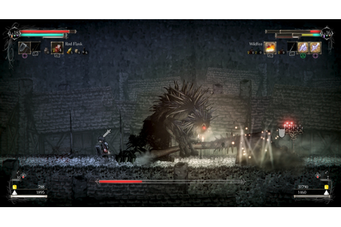 ... how co-op works in Souls-like 2D platformer Salt and Sanctuary | VG247