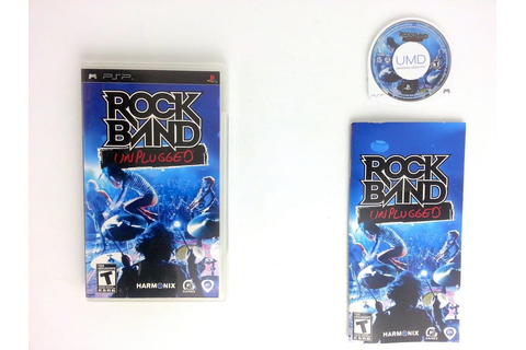Rock Band Unplugged game for PSP (Complete) | The Game Guy