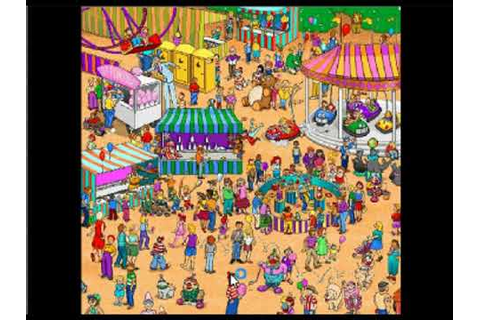 Massive Scary Pop Up Flash Game 25 - Where's Waldo - YouTube