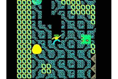 BBC Micro Game Repton 2 - YouTube