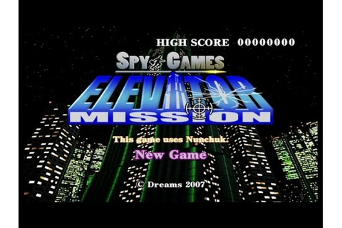 Spy Games Elevator Mission Wii Gameplay - YouTube