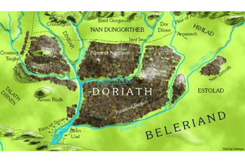 Doriath | J.R.R.Tolkien Legendarium Wiki | FANDOM powered ...