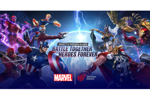 Marvel Super War: Brand new 5v5 MOBA by Netease enters CBT ...