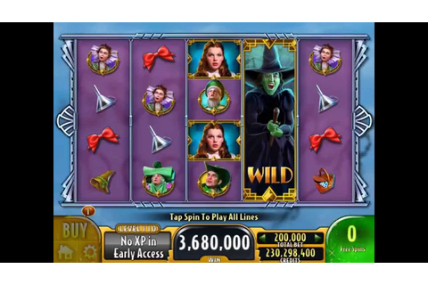 WIZARD OF OZ SURRENDER DOROTHY Video Slot Game with a FREE ...
