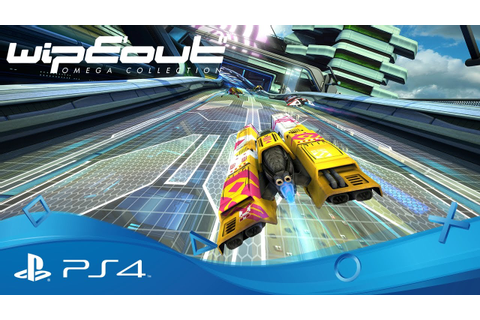 WipEout Omega Collection | PSX 2016 Announce Trailer | PS4 ...