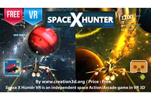 Space X Hunter VR - An independent space Action/Arcade ...